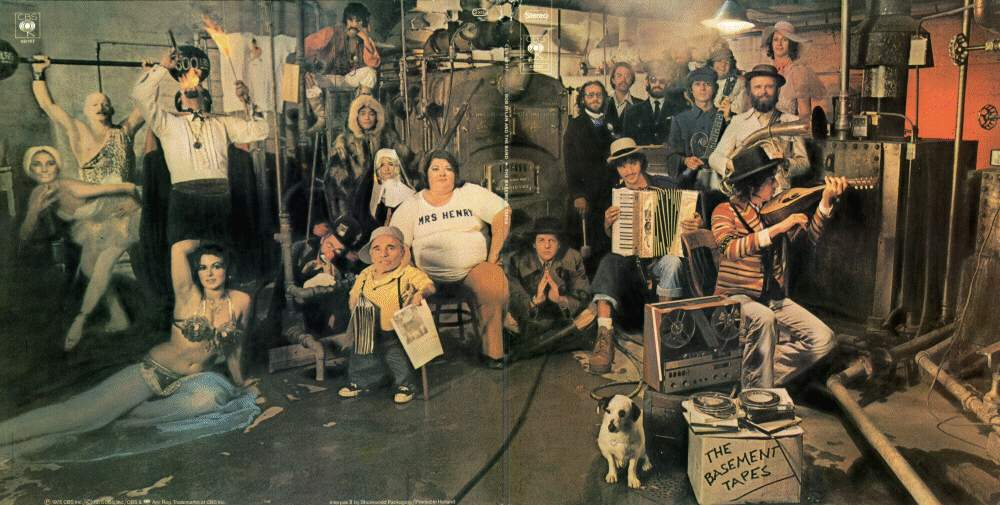The Basement Tapes, Bob Dylan & The Band