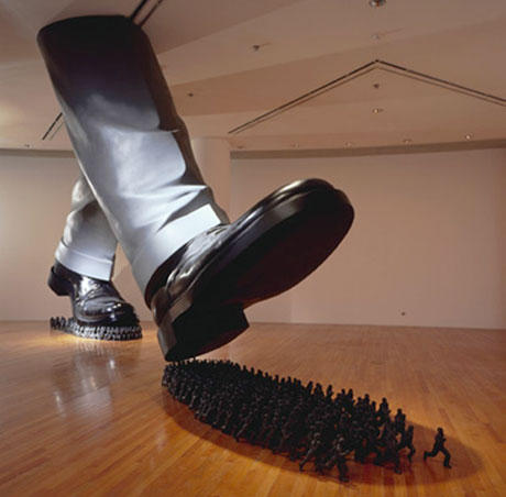 A New Art Form Known As Installation Julian Schnabel The Broad ...