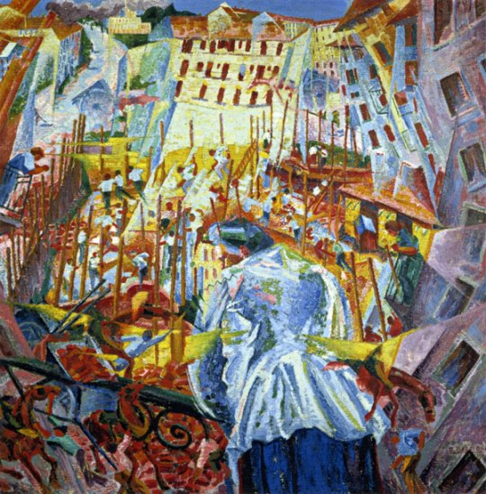 Boccioni, The Street Enters The House, 1911