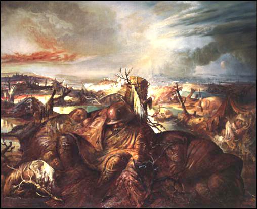 Otto Dix, Flanders