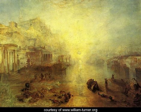 Joseph Mallord William Turner. Ovid banished from Rome