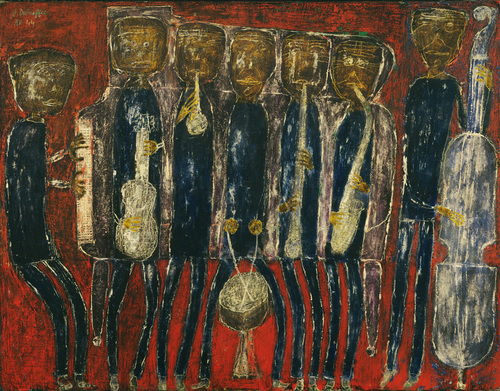 Dubuffet. Grand jazz band. 1944