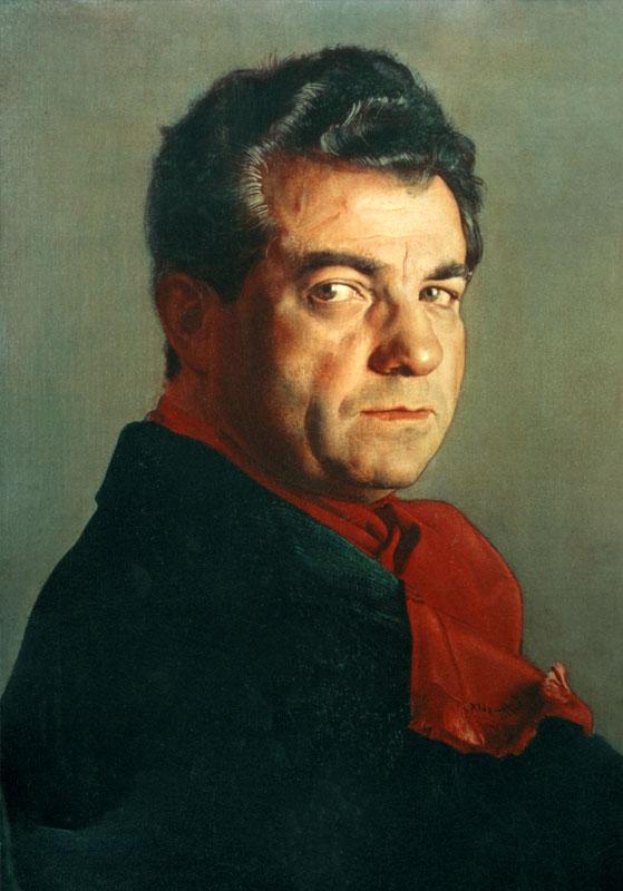 Pietro Annigioni. Portrait of Salvatore Ferragamo