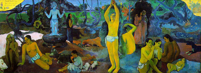 Gauguin, Where Do We Come From?, 1897