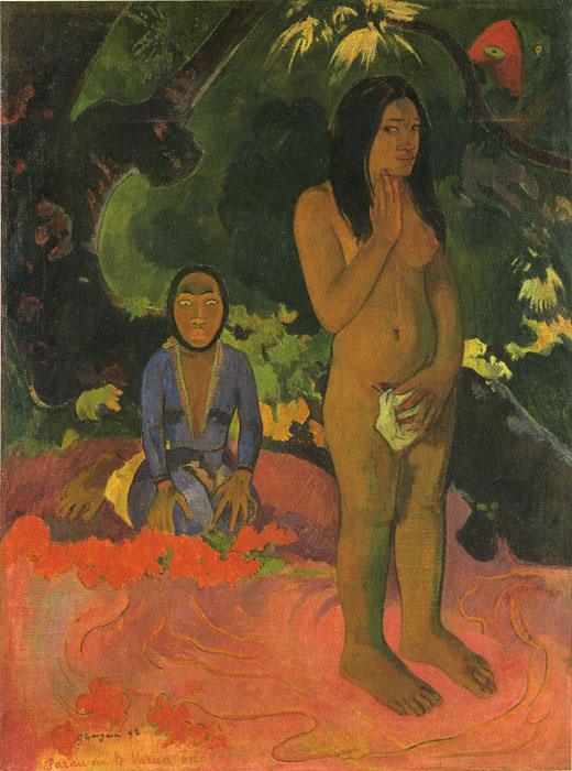 Gauguin, Words of the Devil. 1892