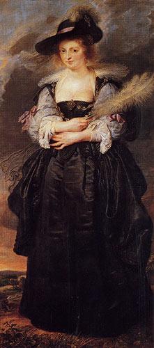 Rubens, Helena Fourment c. 1630.
