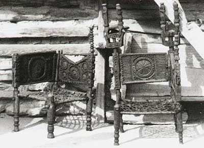 Kegal Chairs. Kafir. 1949.