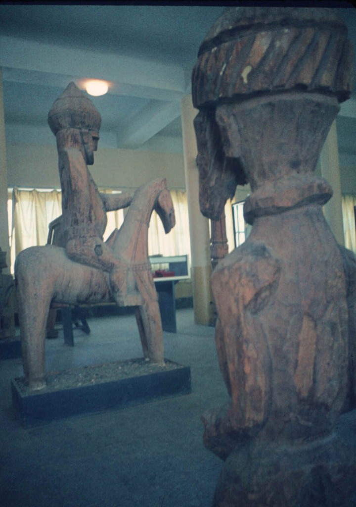 ''The images below were taken between 1968-71 in the Kabul Museum. They were shot with a half-frame 35mm camera. ID information is taken from Art in Afghanistan: Objects from the Kabul Museum by Frances Mortimer Rice and Benjamin Rowland (Coral Gables, University of Miami Press, 1971).''