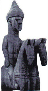 ''The museum in Kubal housed twenty of these wooden images. Until 1993 when it was bombed and looted. The United Nations tried to stop the looting but 90% of the collection was destroy it would destroy all artifacts of pre-Islamic cultures. Statues and object in Afghanistan were destroyed. A few artifacts occasionally turn up on the black market, but there is no way to regain the cultural legacy of the Kafir people. What was left of the wooden structures was said to be used as firewood. ''