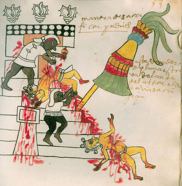 ''The idea of what 'barbarism' is really lies in the eye of the beholder. Although Spanish priests thought many Aztec practices to be base and even evil, they preached in the name of an empire (the Holy Roman Empire) that regularly tortured people for the Inquisition!''