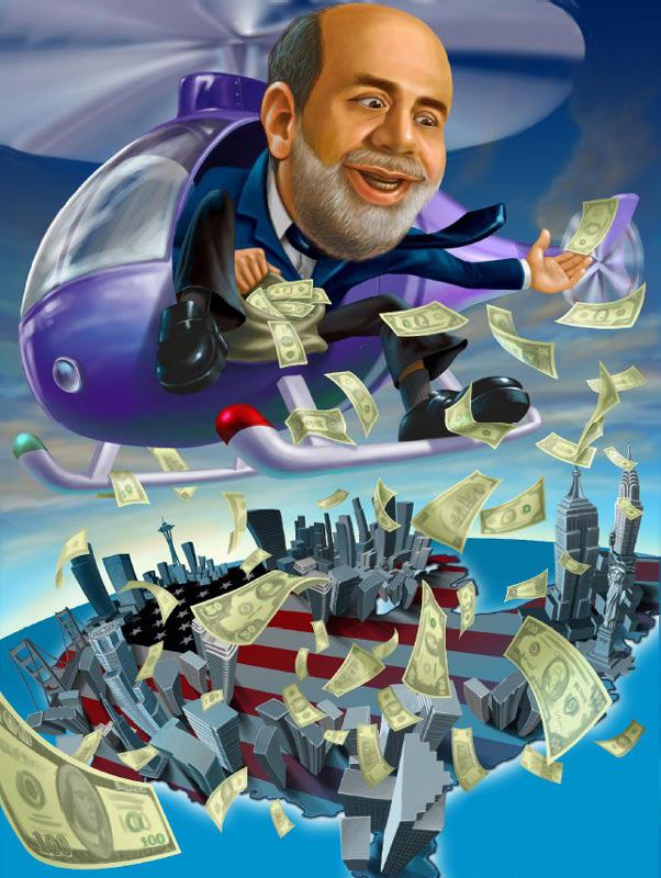 Ben Bernanke. Chairman. Federal Reserve