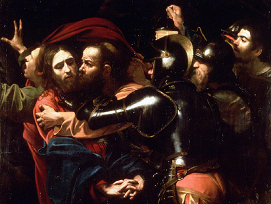Caravaggio, The Taking of Christ