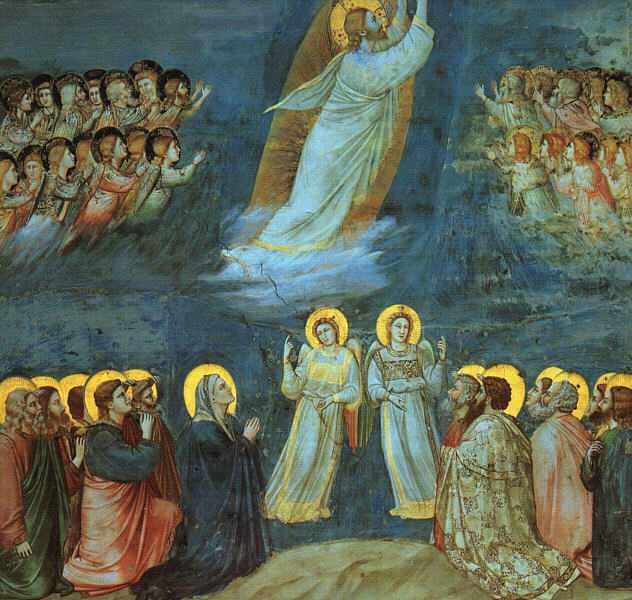 Ascension. Giotto