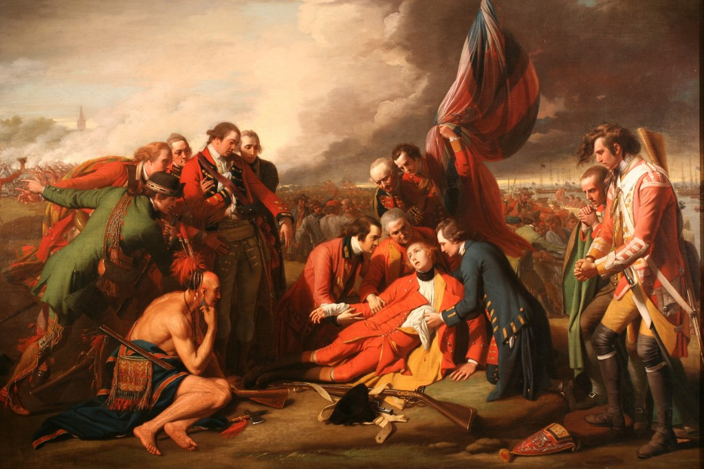 Benjamin West, Death of Wolfe