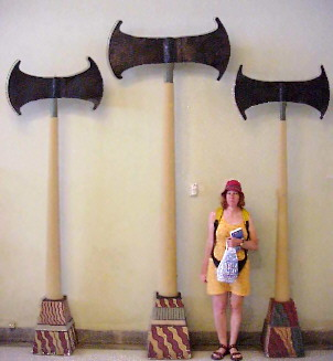 Giant Axe. Minoic Culture