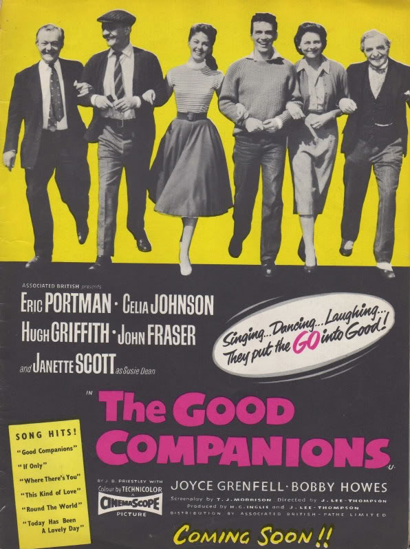 The Good Companions based on the book by J.B. Priestley