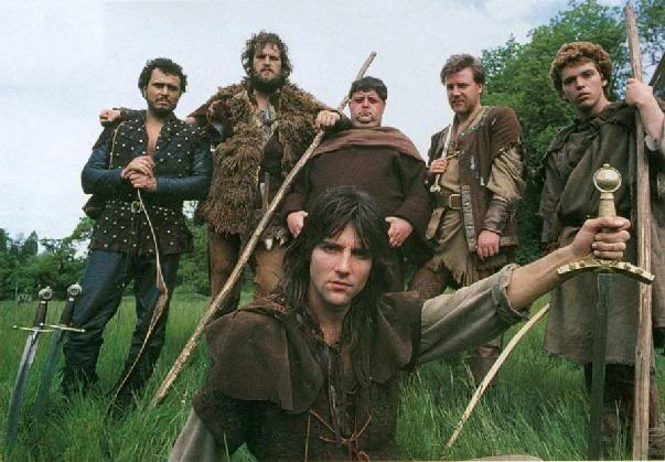 Robin of Sherwood. 'Robin the outlaw! Is there not a mass of freedom in the name?'
