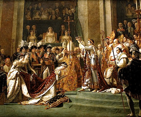 The Crowning [self-coronation] of Napoleon, Jacques-Louis David, c.1808