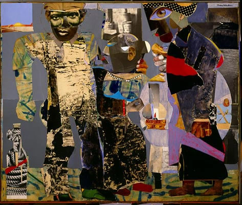 Romare Bearden. Return of the Prodigal Son