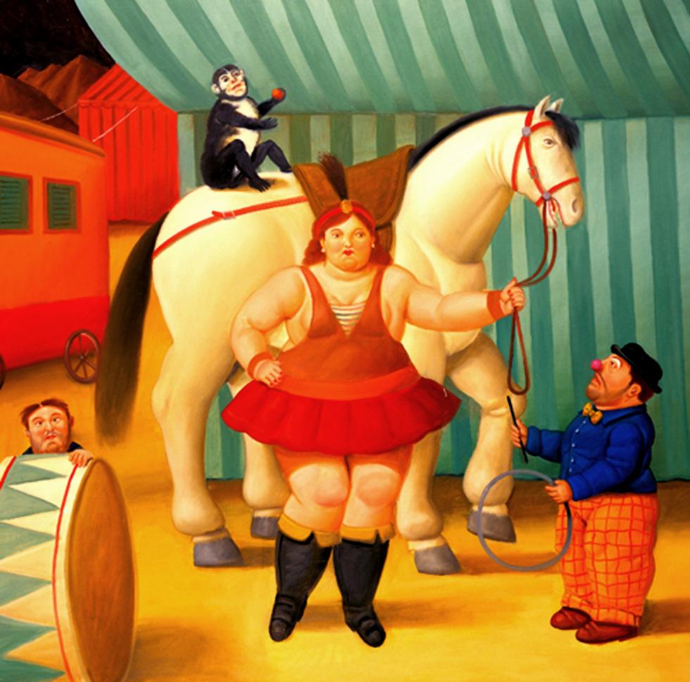 Fernando Botero Angulo. Circus People