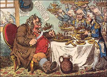 James Gillray; John Bull