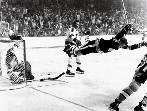 ''What if tv. ads. ''What if Bobby didn't fly'' Bobby Orr. 1970