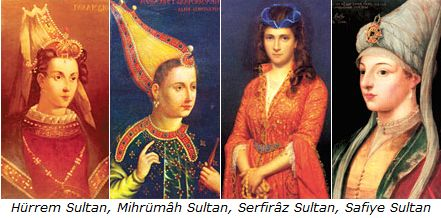 THE HAREM, THE SULTAN, THE PAINTER, THE EUNICH & HIS LOVER