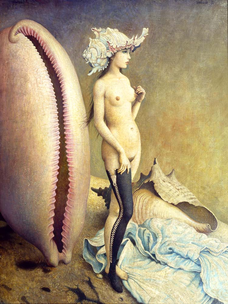 "''Aphrodite by Claude Verlinde  I brought this up in a different thread and thought I'd share it in it's own thread.  Years ago I read about the Church of Aphrodite, or the Temple of Aphrodite. It was in The New Pagans by Hans Holzer. It described their ""Communion"" ritual as follows. A skyclad man and woman both sit on the altar and honey is poured over their genitals. The circle participants each partake of the honey from either or both of the ""sacrifices"".  So, the question is...Would you sit on Aphrodite's altar?  I most certainly would. :)''"
