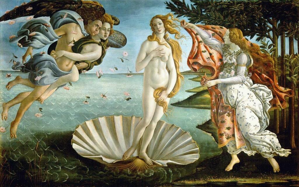 botticelli., Venus