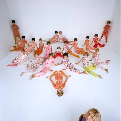 Guy Bourdin. Yard of Blond Girls