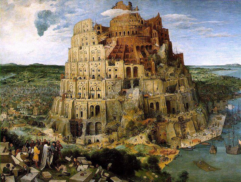 Bruegel. Tower of Babel