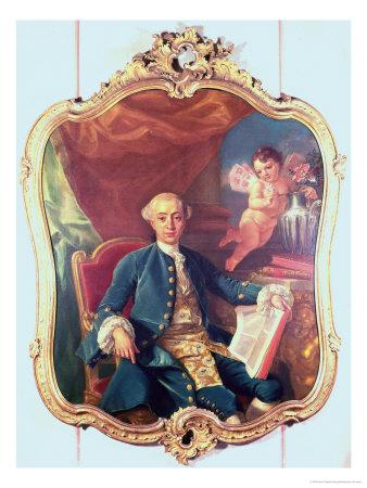 Casanova ( 1725-1798 ) by Anton Raphael Mengs