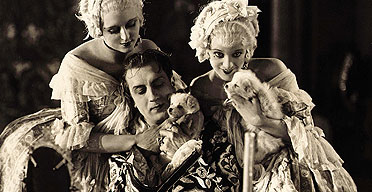 A lot on his mind ... Ivan Mosjoukine as Casanova in Alexandre Volkoff's 1927 film. Photograph: Kobal