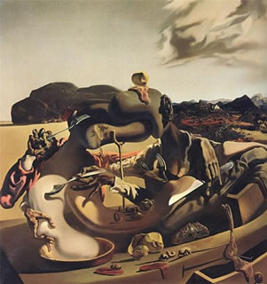 Dali. Autumn Cannibalism. 1936