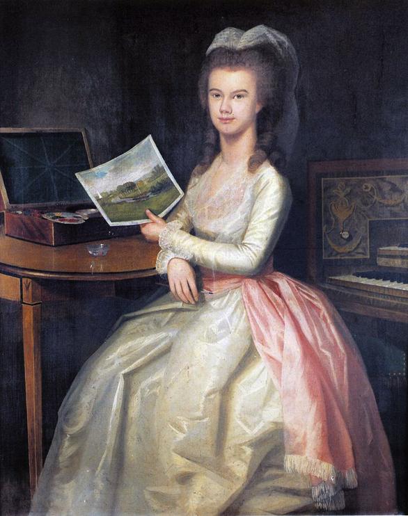 Ralph Earl, Marianne Drake, 1783