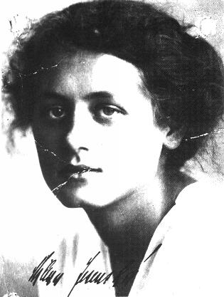 """Milena Jesenska. '' In late 1919, she took notice of an interesting little story, Der Heizer (The Stoker), by a little-known Prague writer named Franz Kafka, and wrote to him, asking him for permission to translate it into Czech.  This was the beginning of their correspondence, which would continue until early 1923.  This relationship was conducted mostly through the mail, the only times they met being four days in Vienna and later a day in a town on the Czech/Austrian border, Gmünd.  This turned out unhappily, though.  Milena was still not strong enough to leave Ernst, and so Franz finally broke off the relationship.  Milena saw very clearly that Frank, as she called him, was not going to live much longer.  There was no real future for them together, Franz's morbid fears, especially of sex, his extreme sensitivity, and his worsening tuberculosis coming in between them.  However, he trusted her completely, giving her all of his diaries in 1922.  After he died Milena wrote a moving obituary for him, saying that """"He was clear-sighted, too wise to live and too weak to fight,"""" and that he was """"condemned to see the world with such blinding clarity that he found it unbearable and went to his death."""""""