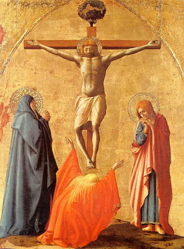 Masaccio, Crucifixion, 1426 (Naples, Museo Nazionale di Capodimonte)