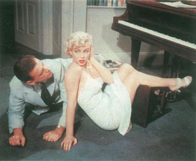 Monroe in Billy Wilder's The Seven Year Itch