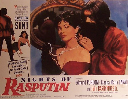 NIGHT THEY KILLED RASPUTIN, THE  (1960)