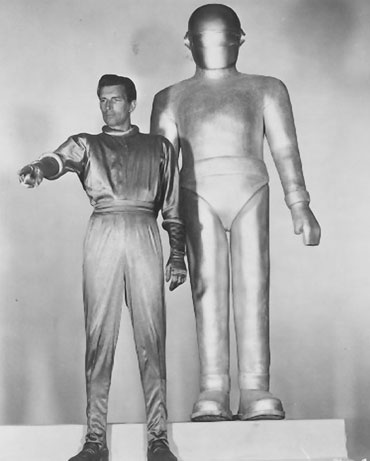 "''""Am I a spaceman? Do I belong to a new race on earth, bred by men from outer space in embraces with earth women?,"" Wilhelm Reich wondered in his book, Contact with Space, published in 1957 before his imprisonment by the federal government. Reich noted that this idea was first presented to the public in the 1951 film, The Day the Earth Stood Still. ''"