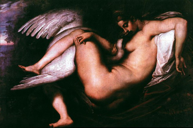 Rubens. Leda and the Swan