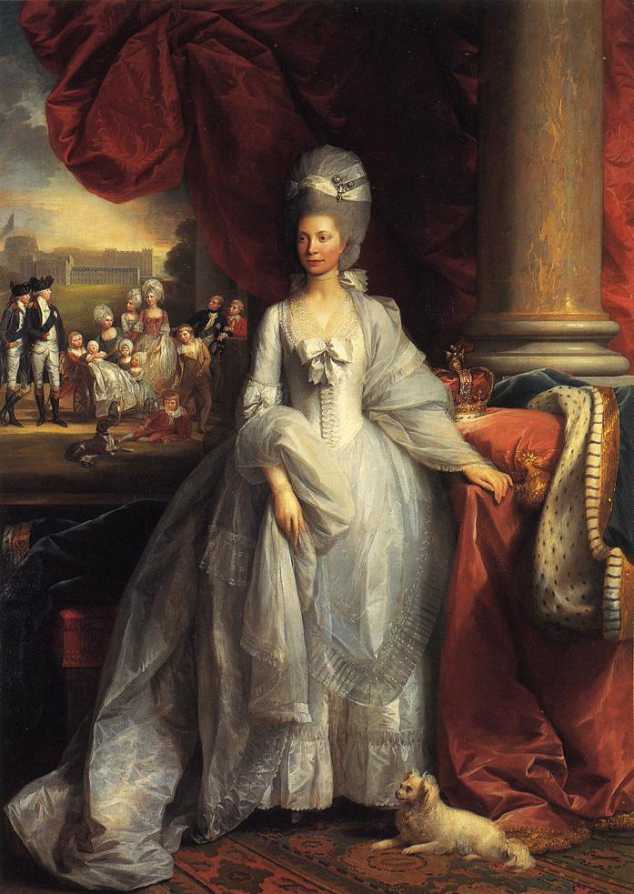 Benjamin West, Queen Charlotte, 1779