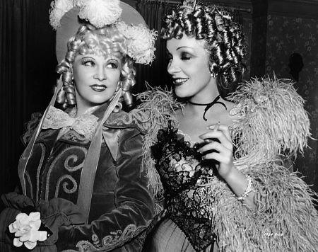 Mae West/Marlene Dietrich