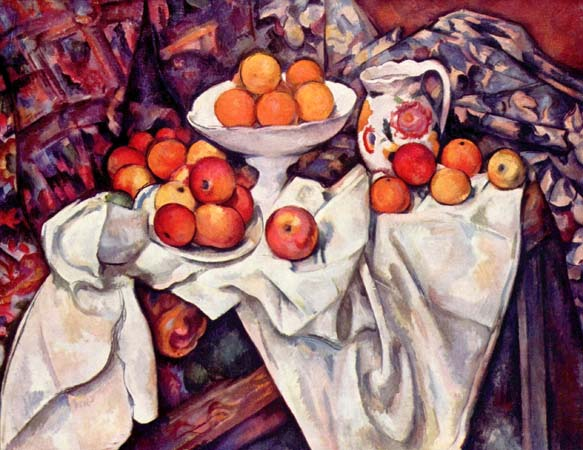 Still Life With Apples and Oranges. 1895-1900.