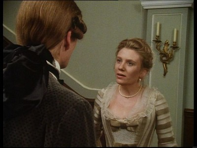 Clarissa tells Lovelace she wants him to leave her and it's no business of his where she goes