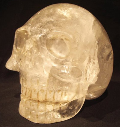 """What is also unusual about the crystal skull ShaNaRa resurfacing is the way that it was found. It was located through a method called ""psychic archeology"", which means that the location of the find was pinpointed by intuitive guidance.  It is interesting to note that many of the present caretakers, particularly of ancient crystal skulls, had some sort of premonition, dream or insight, as if the crystal skull was acting as some kind of beacon, beckoning them to it."""