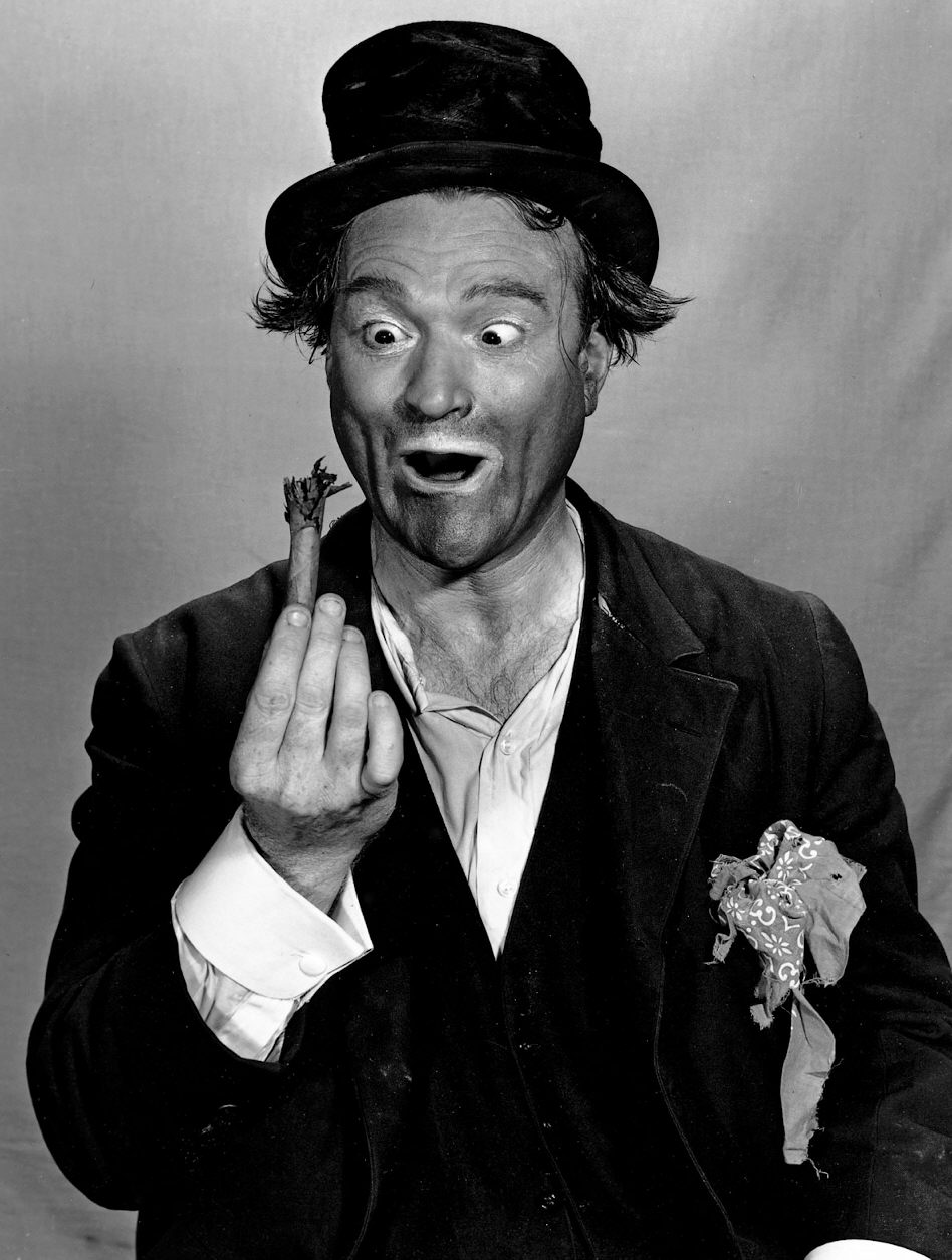---The most incredible commedian that many commedians still mimic today...Red Skelton, born Richard Bernard Skelton and nicknamed America's Clown Prince!---click image for source...